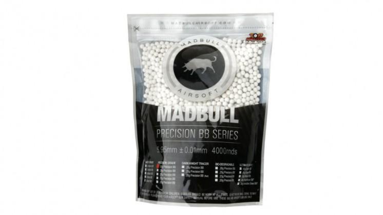 Madbull Precision 0.2g Bio-Degradable BB 4000 rds (Bag)