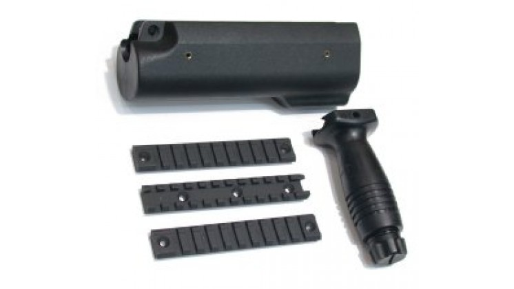 Guarder Large Tactical Handguard with Rails