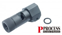 Guarder Steel Suppressor for KJ KC-02 GBB (Type A, 14mm CCW)