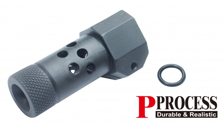 Guarder Steel Suppressor for KJ KC-02 GBB (Type B, 14mm CCW)