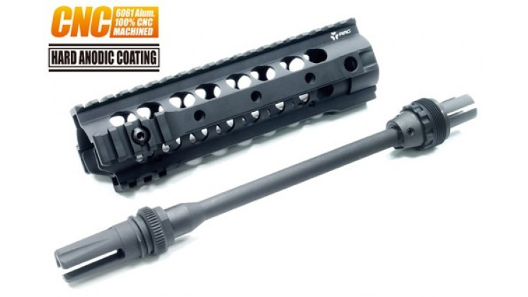 Guarder URX3 8.0 AAC Rail System for PTS ERG / Marui AEG (Front Wiring)