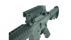Guarder Deluxe See-Thru Carry Handle Mount with Tri-Rails and STANAG Dimensions for M4/M16