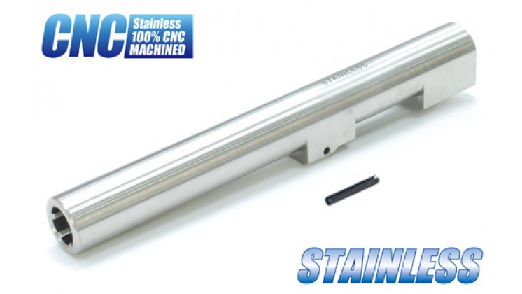Guarder CNC Stainless Steel Outer Barrel for Marui & KJ M9/M92F GBB (2012 Version)