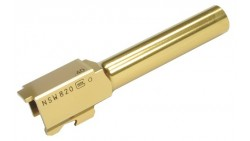 Guarder KJW G23 Steel Outer Barrel (Type B, Gold) (2015)