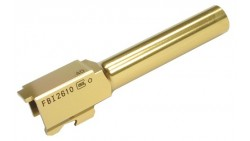 Guarder KJW G23 Steel Outer Barrel (2015)(Type C, FBI, Gold)