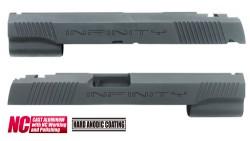 Guarder Infinity Aluminum Custom Slide for Marui Hi-Capa 5.1 (Black)