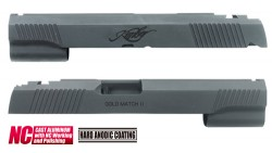 Guarder KBR Aluminum Custom Slide for Marui Hi-Capa 5.1 (Black)