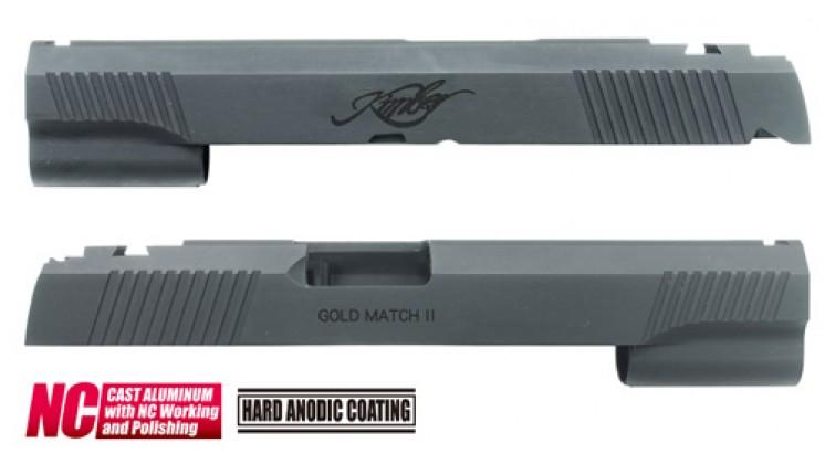 Guarder KBR Aluminum Custom Slide for Marui Hi-Capa 5.1 (Black)
