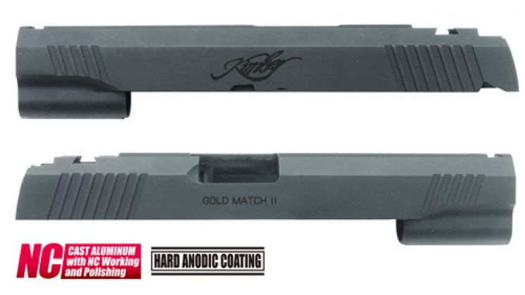 Guarder KBR Custom Slide for Marui Hi-Capa 5.1 (Black)