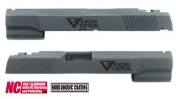 Guarder VT Aluminum Custom Slide for Marui Hi-Capa 5.1 (Black)