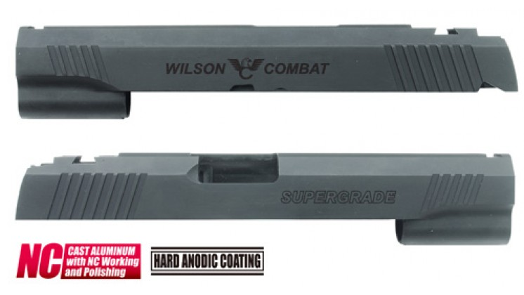 Guarder Wilson Custom Slide for Marui Hi-Capa 5.1 (Black)