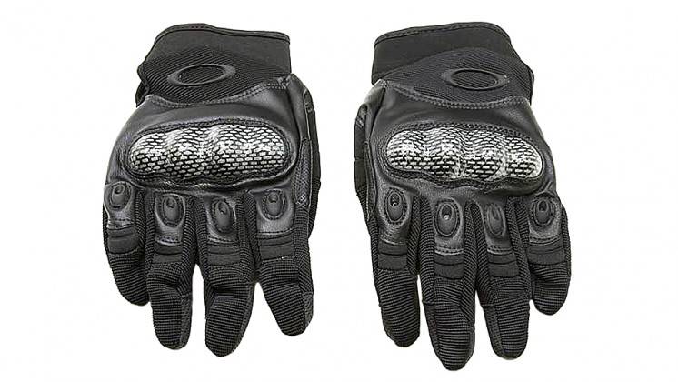 O Style Full Finger Airsoft Tactical Gloves (Carbon Fiber Knuckle Protector)