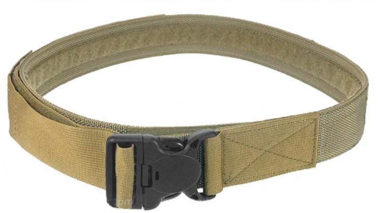PANTAC Duty Belt With Security Buckle (Khaki / Medium)