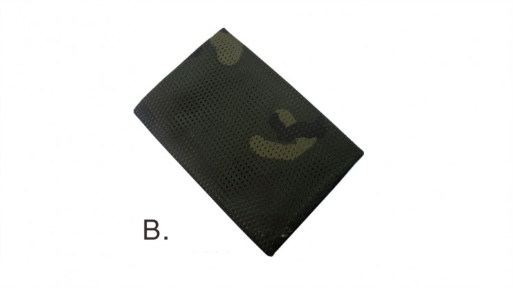 Tactical Military Hunting Camouflage Sniper Cover Multi Scarf Veil Face Mesh Scarves (Deep CP)