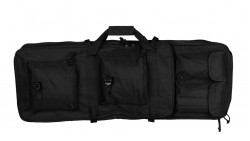 33 Inch Dual Rifle Airsoft Carrying Bag with Shoulder Strap (85cm, Black)