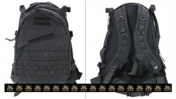 PANTAC Molle AIII Backpack (Black / CORDURA)