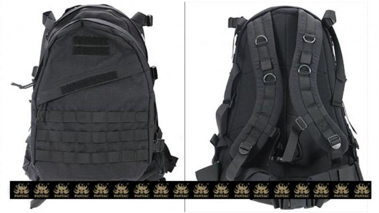 PANTAC Molle AIII Backpack (Black / CORDURA)
