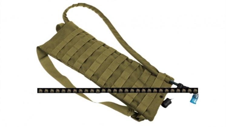 PANTAC Compact Hydration Backpack (Khaki / CORDURA)