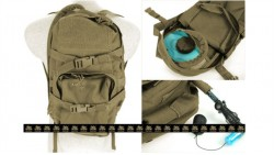 PANTAC MBSS Hydration Backpack Full Set (Khaki / CORDURA)