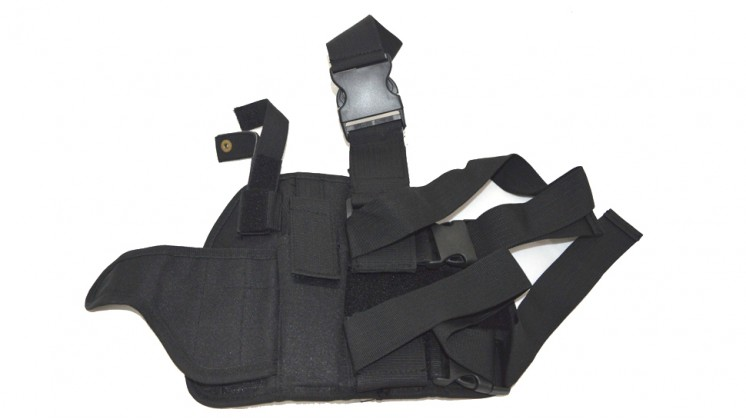 BFG GH-001 Tactical Thigh Holster (Airsoft Pistol, Black)