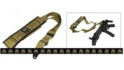 PANTAC Single Point Sling Version II (Khaki / CORDURA)