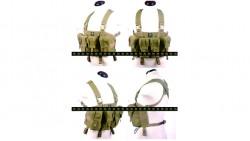 PANTAC LBT AK Tactical Chest Vest (Khaki / CORDURA)
