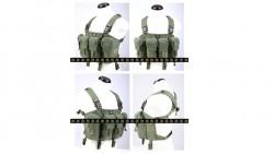 PANTAC LBT AK Tactical Chest Vest (OD / CORDURA)