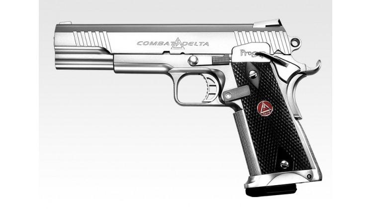 Tokyo Marui Combat Delta EBB Pistol ( Black / Silver )