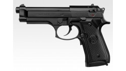 Tokyo Marui M92F Military EBB Pistol ( Black / Silver )