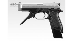 Tokyo Marui M93R Fixed Slide AEP (Silver Slide 2-Tone)
