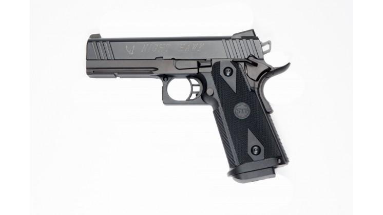 KSC STI Night Hawk 4.3 FULL METAL GBB Pistol