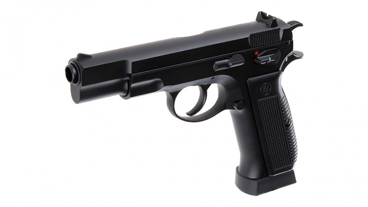 KJ Works CZ-75 KP-09 GBB Pistol CO2 Version