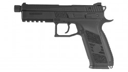 KJ WORKS CZ P-09 Tactical GBB Pistol (ASG Licensed) CO2 Version