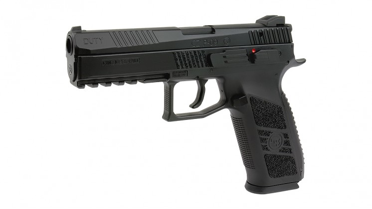 KJ WORKS CZ P-09 Duty GBB Pistol (ASG Licensed) CO2 Version