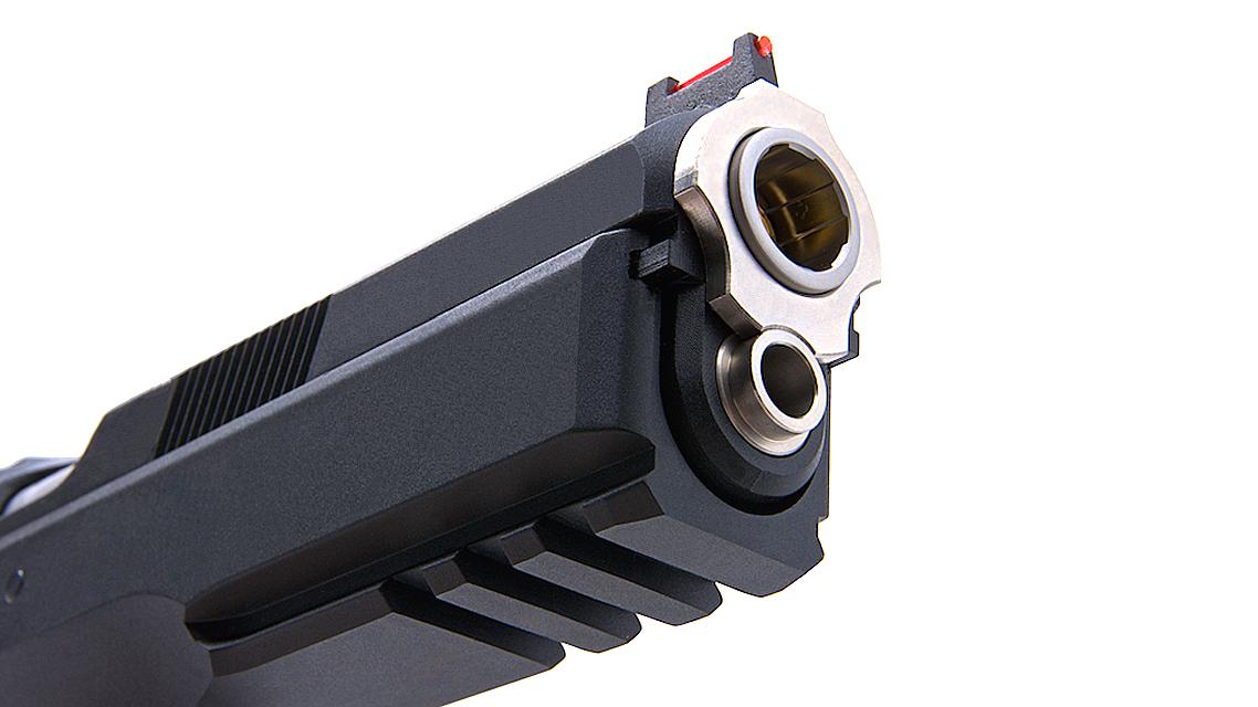 KJ WORKS CZ 75 SP-01 SHADOW ACCU CUSTOM GBB Pistol CO2 Version Model
