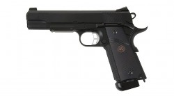 KJ Works M.E.U. KP-07 CO2 Full Metal GBB Pistol (Black)