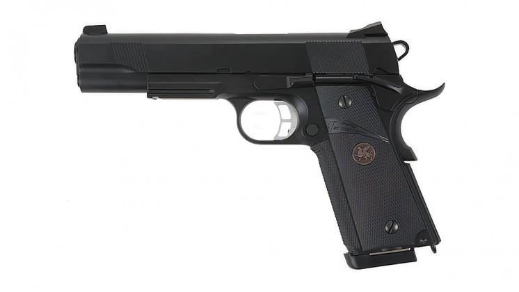KJ Works M.E.U. KP-07 Full Metal GBB Pistol (Black)
