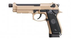 KJ WORKS M9A1 TBC Full Metal GBB Pistol (TAN, CO2)