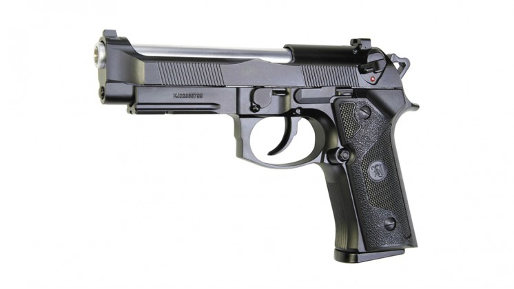 KJ Works M9 ELITE IA Full Metal Gas Blowback Pistol
