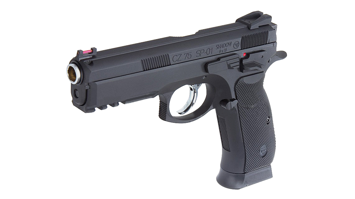 KJ Works CZ-75 SP-01 GBB Pistol(ASG Licensed) Model: KJ-SP