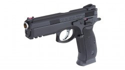KJ Works CZ-75 SP-01 GBB Pistol(ASG Licensed)