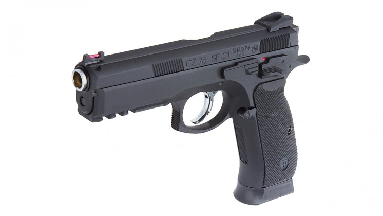 KJ Works CZ-75 SP-01 GBB Pistol(ASG Licensed) CO2 Version