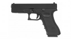 KJ WORKS KP-17 GBB Pistol Airsoft CO2 Version - BLACK