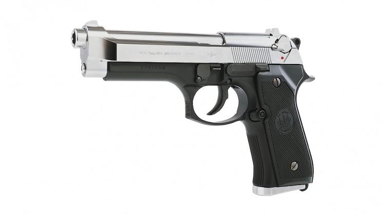 TOKYO MARUI M92F MILITARY GBB Pistol (Silver Slide)