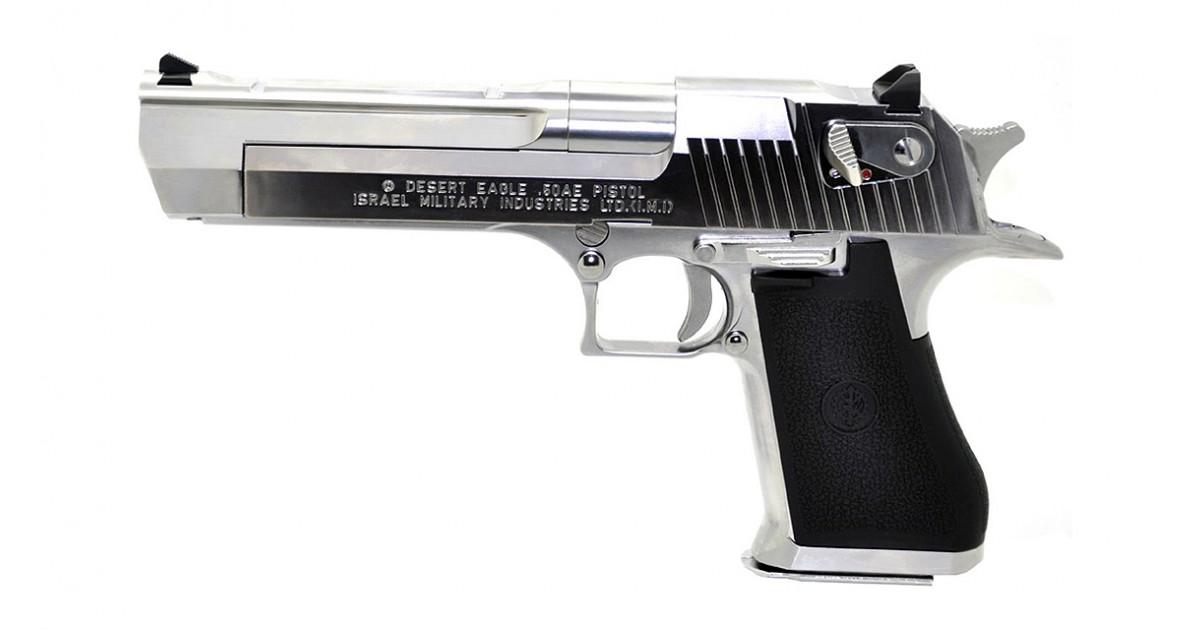 Tokyo Marui Desert Eagle .50AE Chrome Stainless GBB Pistol ...