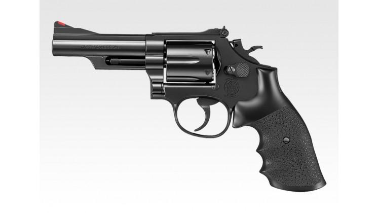 Tokyo Marui Smith & Wesson M19 4 inch Gas Revolver (24 Shots System, Black)