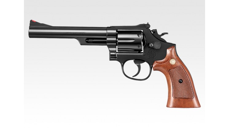 Tokyo Marui Smith & Wesson M19 6 inch Gas Revolver (24 Shots System, Black)