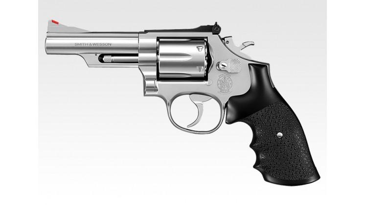 Tokyo Marui  Smith & Wesson M66 4 inch Gas Revolver (24 Shots System, Silver)