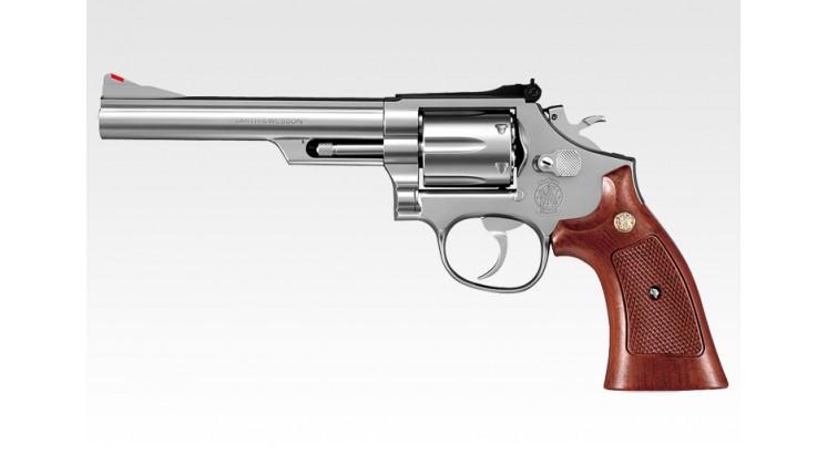 Tokyo Marui  Smith & Wesson M66 6 inch Gas Revolver (24 Shots System, Silver)