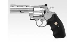 Tokyo Marui Python 357 4 inch Revolver (Stainless)